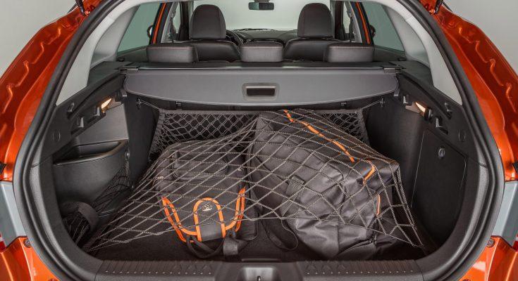 Лада Веста Кросс объем багажника и организация полезного пространства