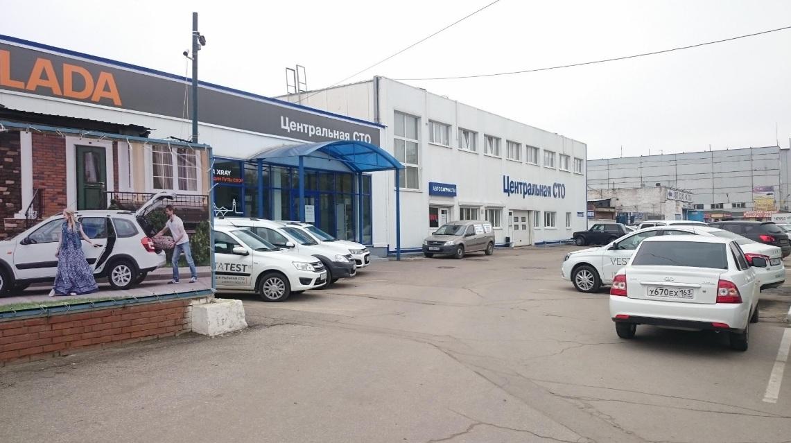 Официальный дилер Лада Веста Кросс в Тольятти - Центральное СТО