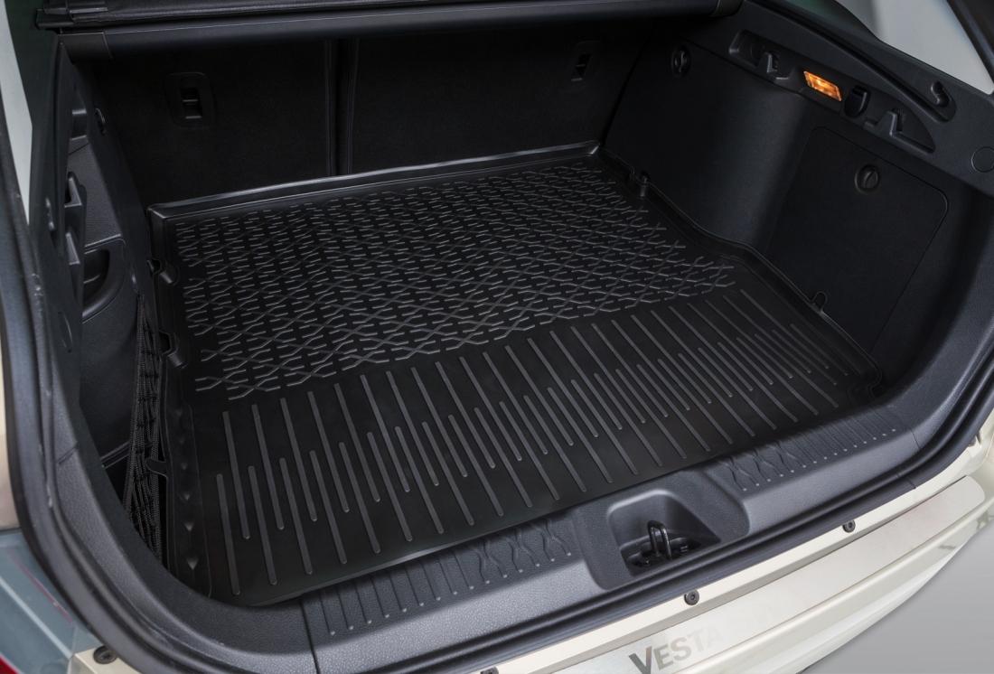 Виды ковриков в багажник Лада Веста СВ Кросс