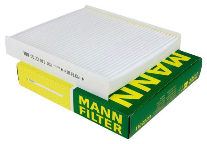 Салонный фильтр Лада Веста СВ Кросс Mann CU 22 011