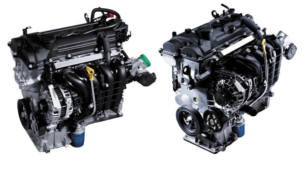 Двигатели Киа Рио 1.4 л и 1.6 л