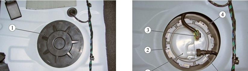 Процесс замены топливного фильтра Лада Веста