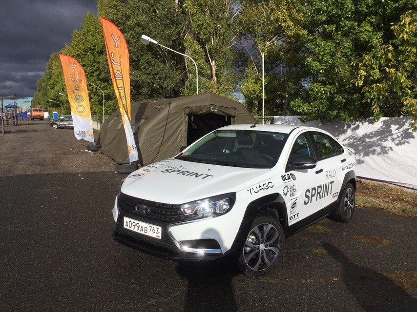Новая Lada Vesta Rally Sprint с независимой задней подвеской