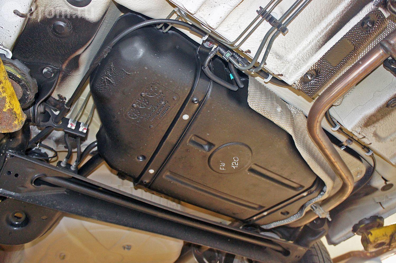 Лада Веста объем топливного бака в цифрах