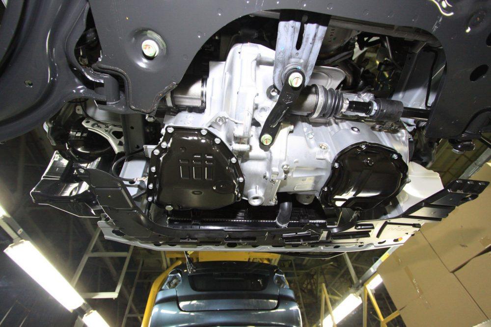 Двигатель HR16 и вариатор Jatco JF015E в Nissan Sentra