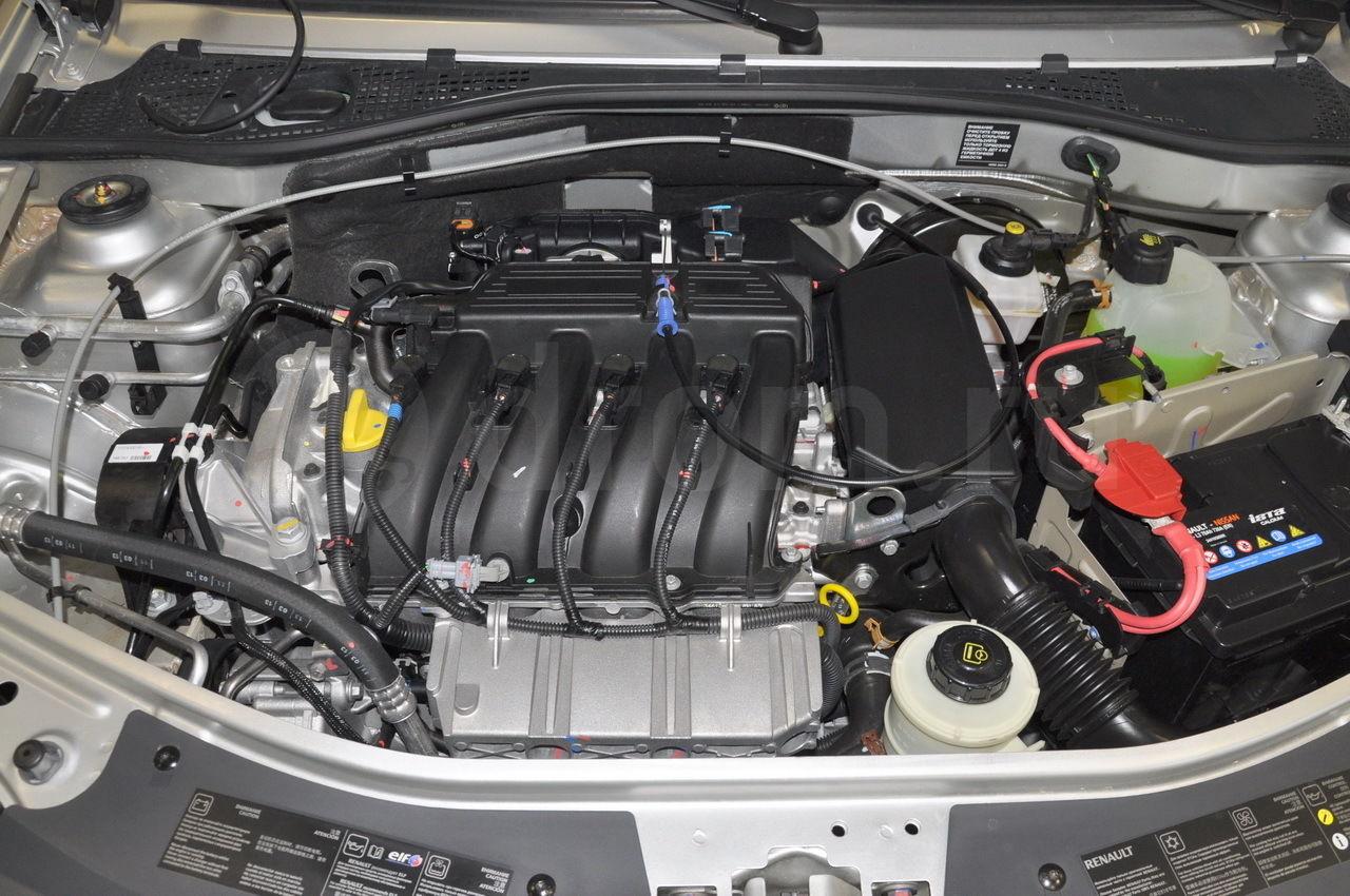 Двигатель K4M Рено Логан