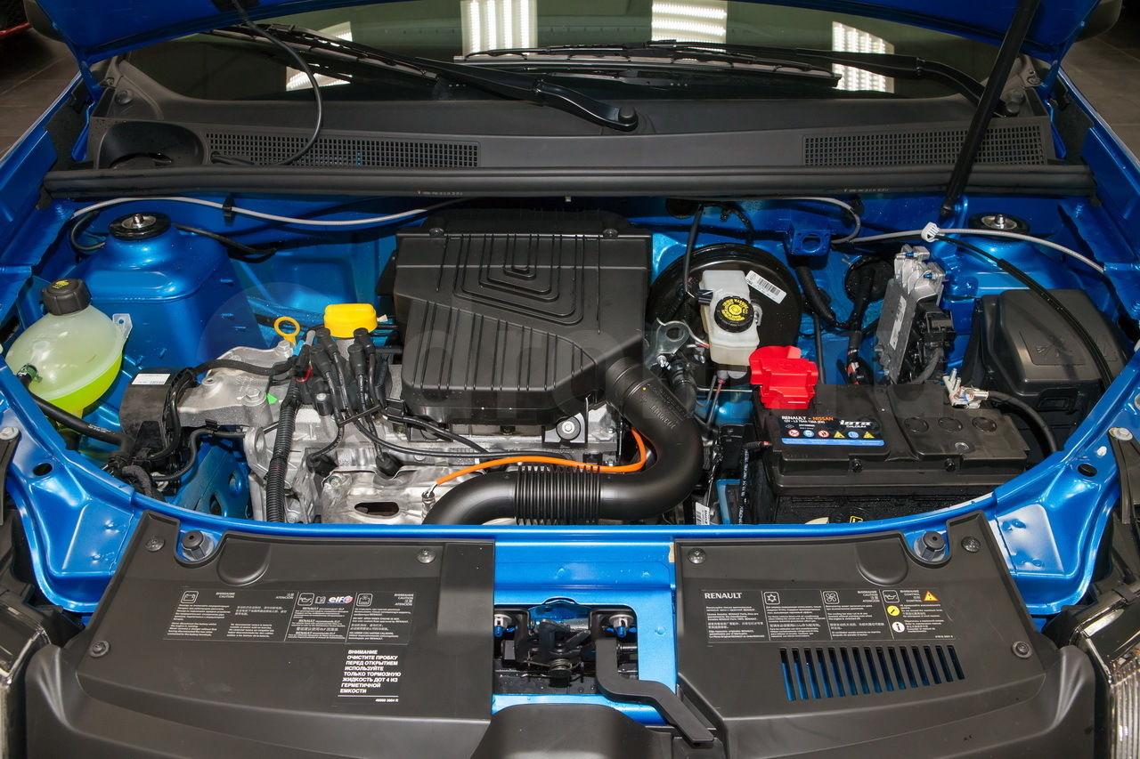 Двигатель K7M Рено Логан