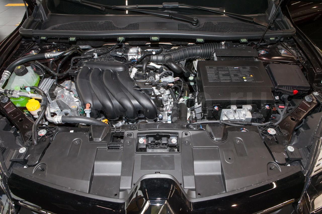 Двигатель H4M Рено Логан