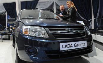в январе было продано 7,63 тыс. автомобилей Лада Гранта